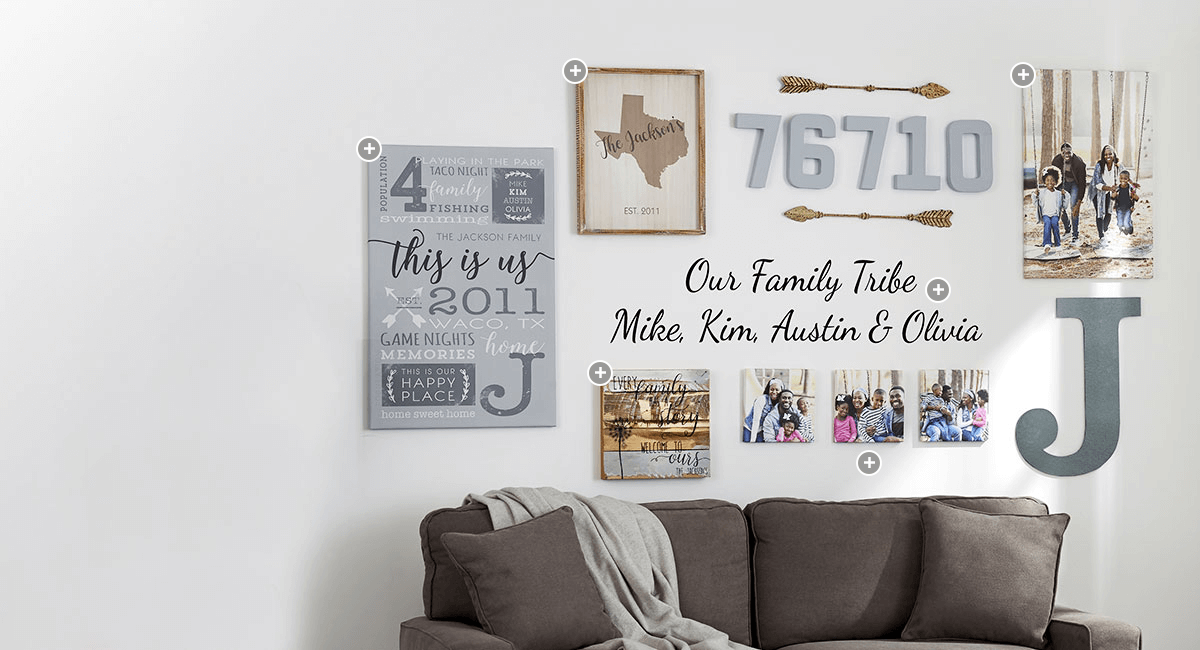 Magnificent Personalized Wall Art Personalizationmall Com Ocoug Best Dining Table And Chair Ideas Images Ocougorg