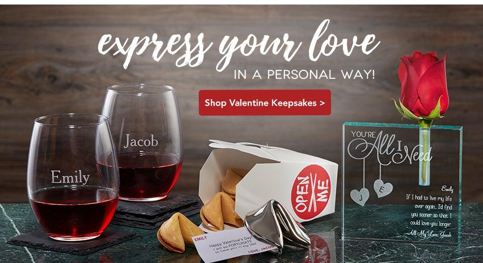 gifts personalized personalizationmall valentine mall personalization keepsakes