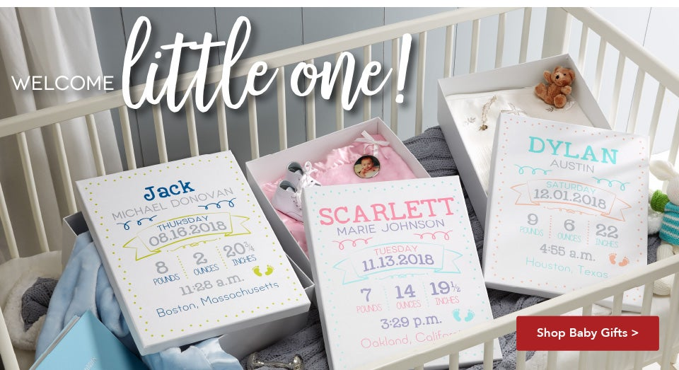 Personalized gifts unique gift ideas personalization mall baby giftssummer funwedding giftswall decor negle Images