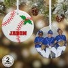 2-Sided Baseball Ornament