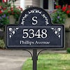 Street Address - Blue