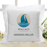 Personalized Custom Logo Keepsake Pillow - 10007