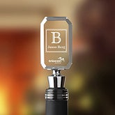 Personalized Corporate Logo Acrylic Wine Stopper - 10019