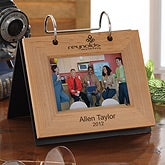 Personalized Corporate Engraved Logo Photo Flip Album - 10026