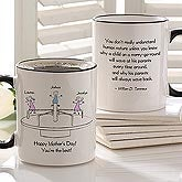 Personalized Coffee Mugs for Mom - Merry Go Round - 10044