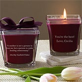 Personalized Scented Candles for Mom - 10046