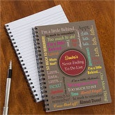Personalized Notebook Set - My To Do List - 10048