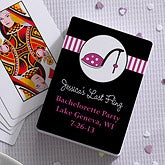 High Heel© Personalized Playing Cards