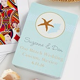 Personalized Playing Card Wedding Favors - Beach Wedding - 10062