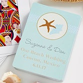 Personalized Playing Cards Beach Wedding Favors - 10062