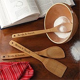 Personalized Cooking Utensil Set - Bamboo - 10071