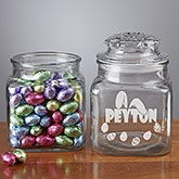 Personalized Easter Candy Jar - Ears To You - 10090