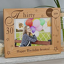 Personalized Birthday Picture Frames | Personalization Mall