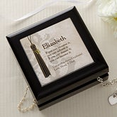Personalized Jewelry Boxes - Graduation - 10101