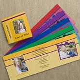 Personalized Photo Graduation Announcements - Tri-Fold - 10102