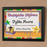 Personalized Kids Diploma Plaque - Little Graduate - 10103