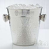 Personalized Corporate Engraved Logo Ice Bucket & Chiller - 10112