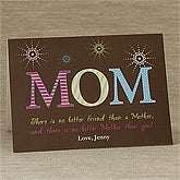 Personalized Mother's Day Cards - For Mom - 10156