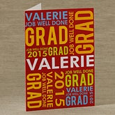 Job Well Done© Personalized Greeting Card