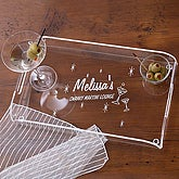 Personalized Cosmopolitan Serving Tray - 1016