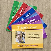 Personalized Photo Thank You Cards - 10164