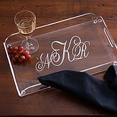 Monogram Classics Personalized Serving Tray, www.etsystalkers.com
