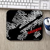 Personalized Guitar Mouse Pad - Rock On - 10216