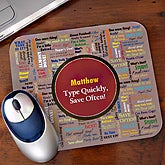 Too Much To Do© Personalized Mouse Pad