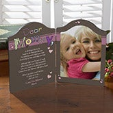 Personalized Photo Plaque - Why We Need Mom or Grandma - 10236
