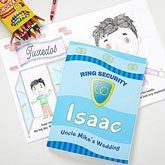 Personalized Ring Bearer Coloring Book - 10245