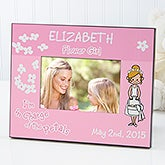 Our Flower Girl© Personalized Frame