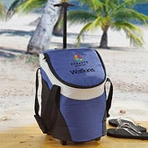 Personalized Custom Corporate Logo Rolling Cooler Bag - 10290