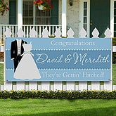 Personalized Wedding Shower Party Banner - 10304