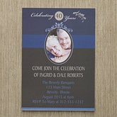 Personalized Photo Anniversary Party Invitations - Happy Anniversary - 10315