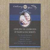 Personalized Photo Anniversary Party Invitations - Happy Anniversary - 10315
