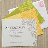Floral Save The Date Cards & Magnets - 10320