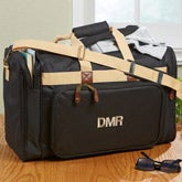 Monogram Embroidered Duffel Bags - Weekend Getaway - 10324