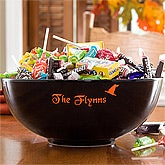 Personalized Halloween Candy Bowl - 10338