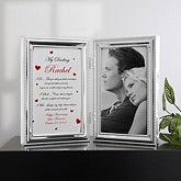 A Gift Of Love© Personalized Photo Frame