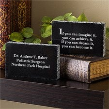 Personalized Doctor Keepsake Gift - Inspiring Messages - 10348