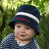 Personalized Baby Boy Bucket Hat - 10356