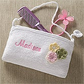 Girls Personalized Purse - Flower - 10357