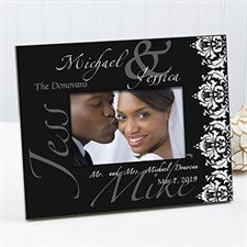 Personalized Wedding Picture Frames - Wedding Day - 10360
