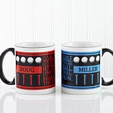 Personalized Golf Coffee Mugs - Go Play Golf - 10363