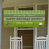 Personalized Party Banners - Golf - 10365