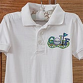 Personalized Golf Clothing for Kids - Future Golfer - 10379