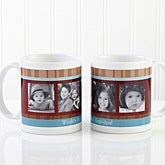 Personalized Large Photo Coffee Mugs for Him - Photo Message