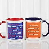 Sports Coach Personalized Coffee Mugs - 10384