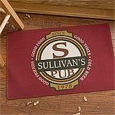 Personalized Classic Tavern Bar Doormat - 10388