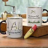Personalized Fisherman Coffee Mugs - Fishing for Dad - 10399